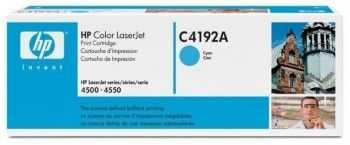 Toner HP C4192A cyan
