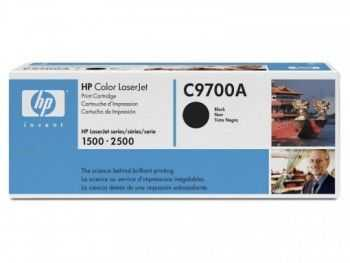 Toner HP C9700A black