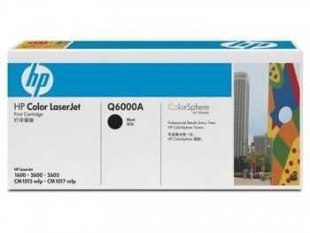 Toner HP Q6000A black