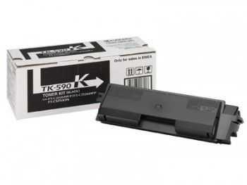 Toner kit Kyocera FS-C2026MFP  FS-C2126MFP  FS-C5250DN TK-590K black 7000 pagini