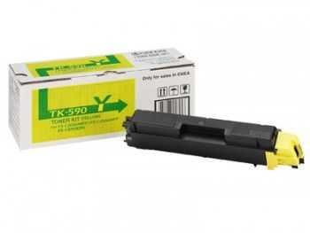 Toner kit Kyocera FS-C2026MFP  FS-C2126MFP  FS-C5250DN TK-590Y yellow 5000 pagini