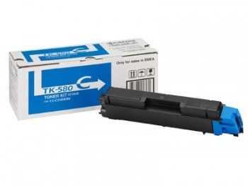 Toner kit Kyocera FS-C5150DN TK-580C cyan 2800 pagini