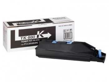 Toner kit Kyocera FS-C8500DN TK-880K black 25000 pagini