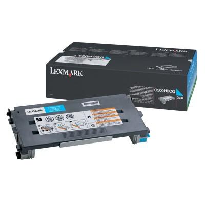 Toner Lexmark C500 X502n cyan