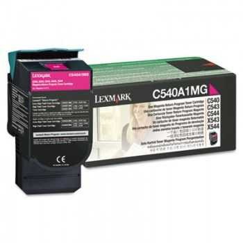 Toner Original Lexmark C540A1MG Return Magenta 1.000 Pagini