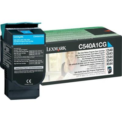 Toner Lexmark C540A1CG Return Cyan 1,000 Pagini