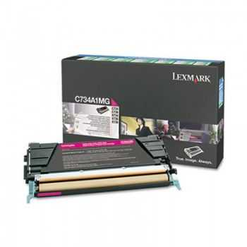 Lexmark Cartridge (C734A1MG) Return Magenta 6k