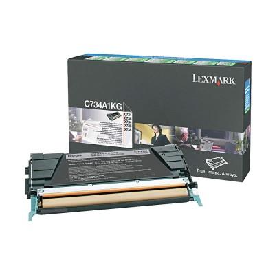Toner Lexmark C734 Return Black 8000 Pagini (C734A1KG)