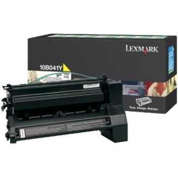 Toner Lexmark C750 return progran yellow