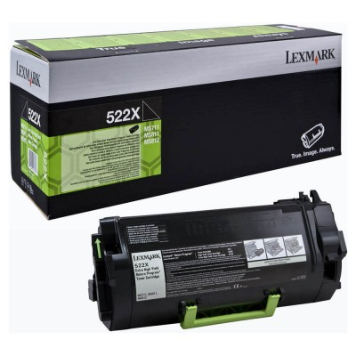 Toner Lexmark Return 52D2X00 Black 45.000 pagini