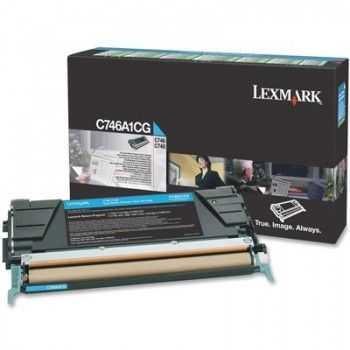 Toner Lexmark C746DN Cyan 7000 Pagini (C746A1CG)