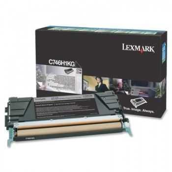 Toner Lexmark C746DN Black 12000 Pagini (C746H1KG)