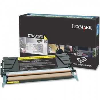 Toner Lexmark C746DN Yellow 7000 Pagini (C746A1YG)