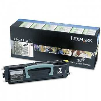 Lexmark Cartridge (X340A11G) Return Black 2,5k