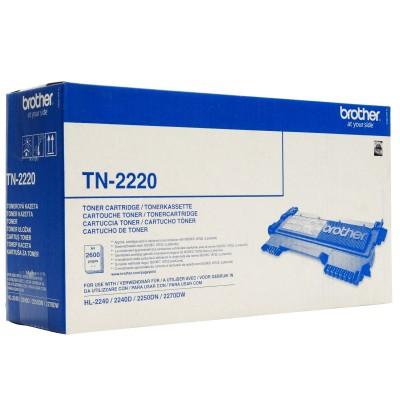 Toner negru Brother TN2220 2600 Pagini