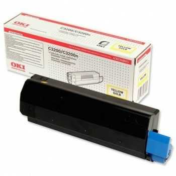 Toner Oki C3100 yellow