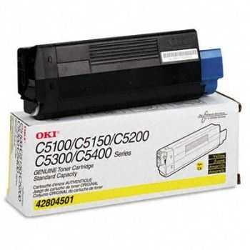 Toner Oki C5100N C5300N yellow