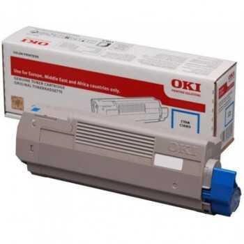 Toner Oki C532 MC563 MC573 Cyan 1.500 Pagini