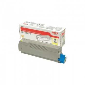 Toner Oki C532 MC563 MC573 Yellow 6.000 Pagini (46490605)