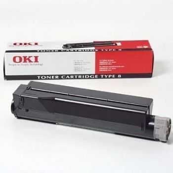 Toner Oki Fax 4W 4M FAX4100 black