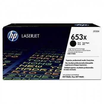 Toner original HP 653X M680dn M680f M680z black 20000 pagini