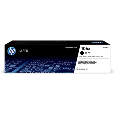 Toner Original HP W1106A Black, 1.000 Pagini