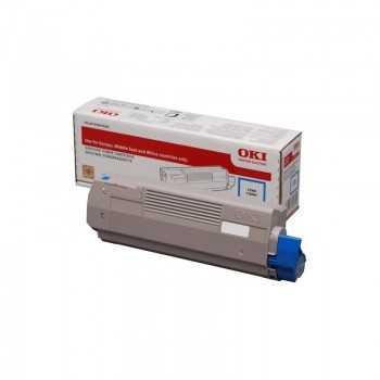 Toner Original Oki C600 Cyan 6k (46507507)
