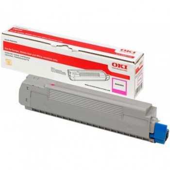 Toner Original Oki C600 Magenta 6k (46507506)