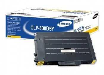 Toner Samsung CLP-500 CLP-550 yellow
