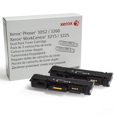Toner Xerox Phaser 3052 Dual Pack Black 2x3000 Pagini