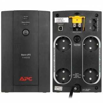 UPS APC BACK-UPS 1400VA / 700W, BX1400U-GR