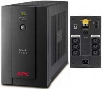 UPS APC Back-UPS 1400VA / 700W, BX1400UI