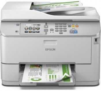 Multifunctional inkjet A4 WorkForce Pro WF-5690DWF