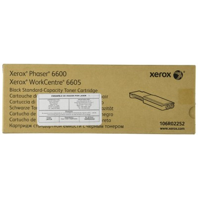 Xerox standard capacity toner black for Phaser 6600