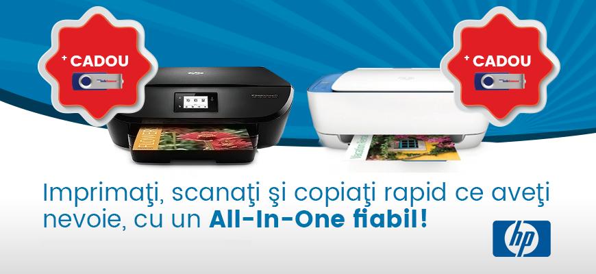 Imprimaţi, scanaţi şi copiaţi rapid ce aveţi nevoie, cu un All-in-one fiabil.